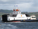MV Lochinvar takes to the waves for the first time, 22nd May 2013